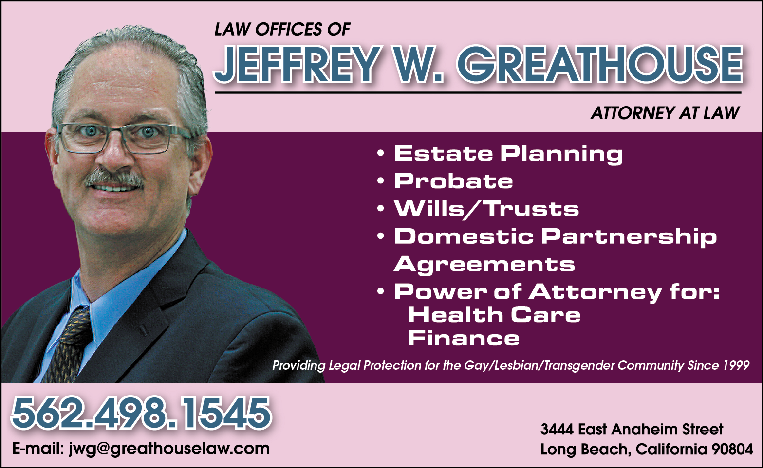 GREATHOUSE, JEFFREY W.