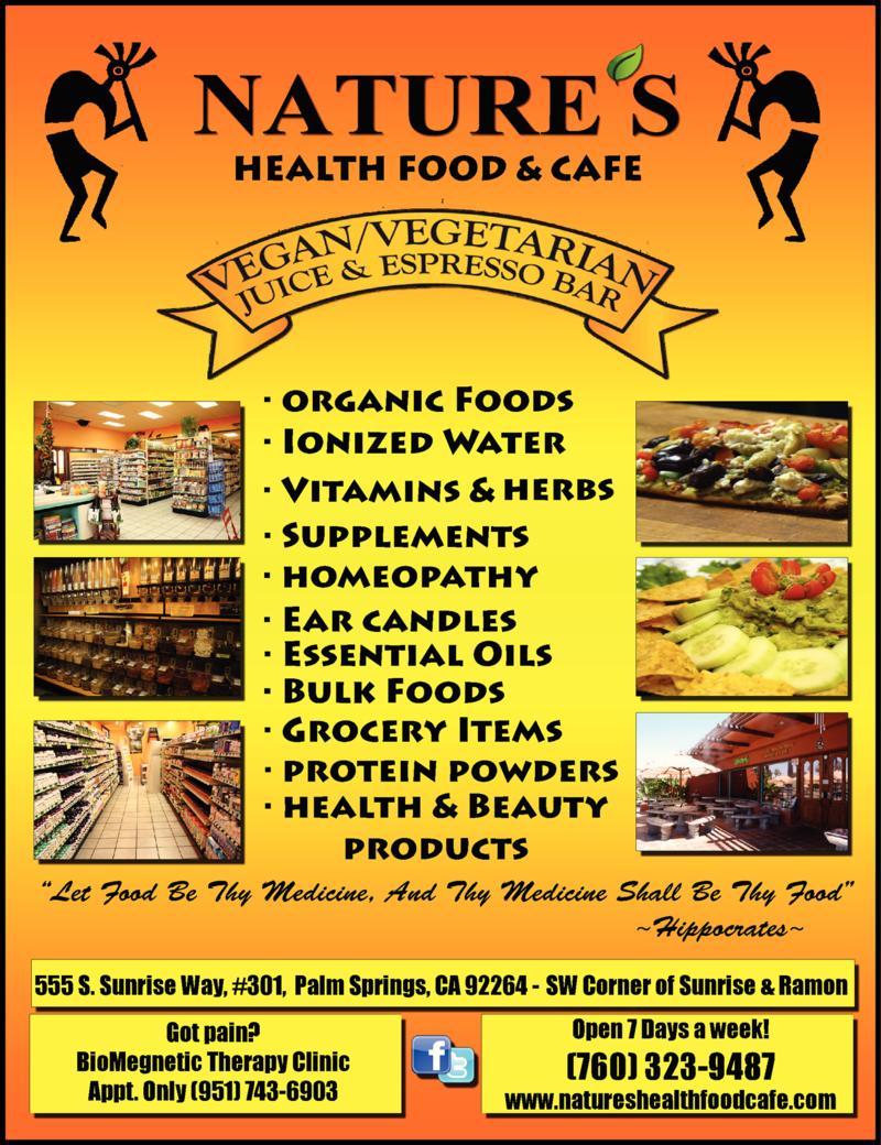 NATURE'S HEALTH FOOD & CAFÉ