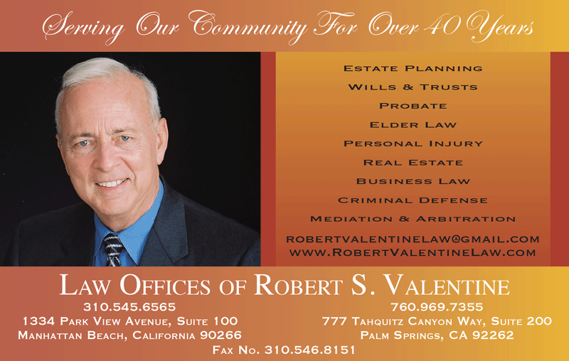 LAW OFFICES OF ROBERT S. VALENTINE