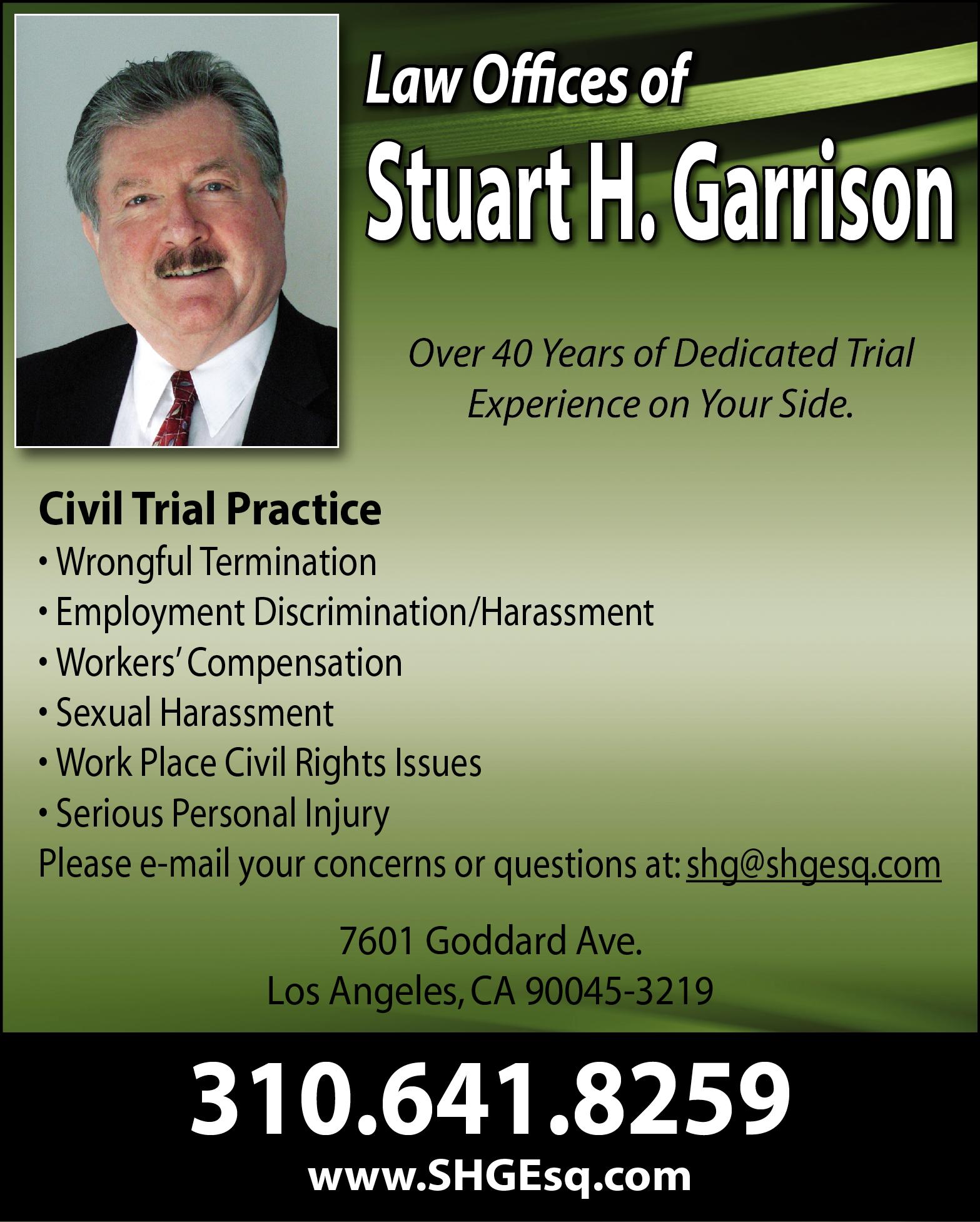 LAW OFFICES OF STUART GARRISON