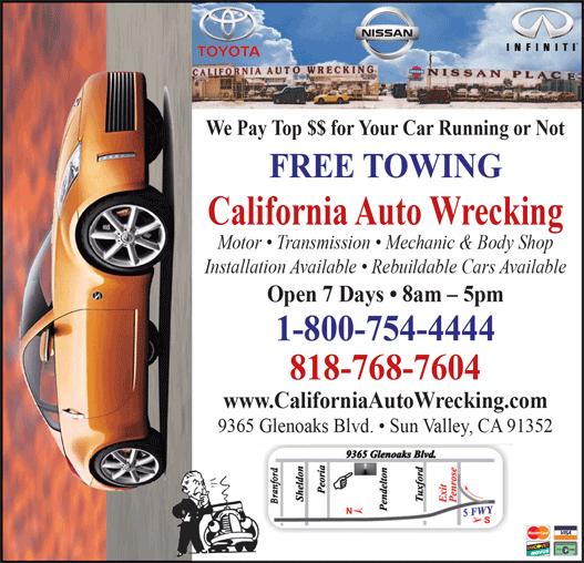 CALIFORNIA AUTO WRECKING