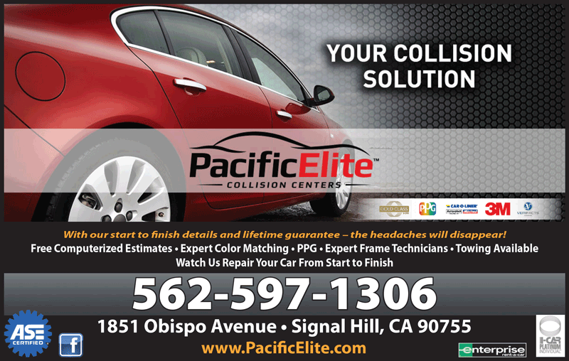 PACIFIC ELITE PREVIOUSLY SUNSET COLLISION CENTER