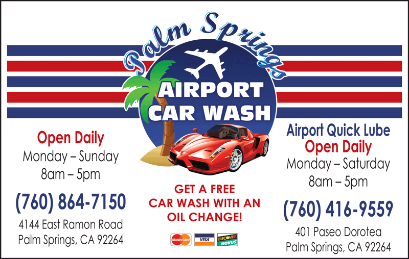 PALM SPRINGS AIRPORT QUICK LUBE