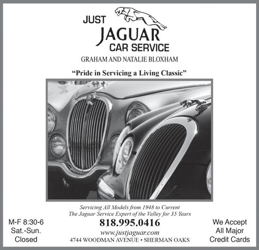 JAGUAR CAR SERVICE - JUST JAGUAR