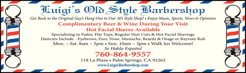 LUIGI'S OLD STYLE BARBER SHOP