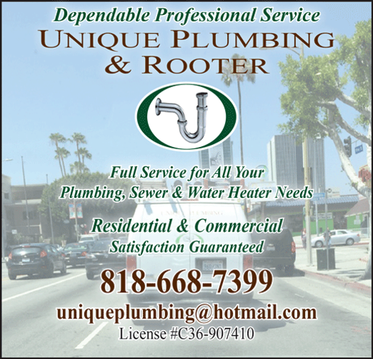 UNIQUE PLUMBING AND ROOTER