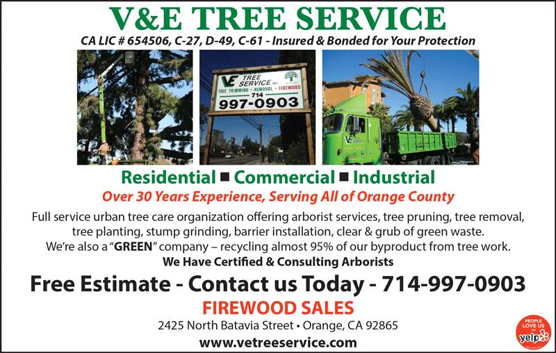 V&E TREE SERVICE