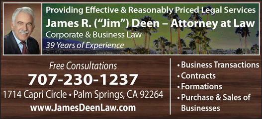 JAMES R. ('JIM') DEEN ATTORNEY AT LAW