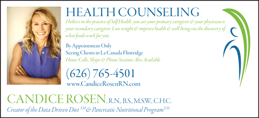 CANDICE ROSEN HEALTH COUNSELING