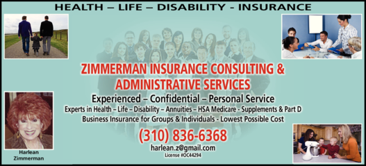 HARLEAN ZIMMERMAN INSURANCE & ADMINISTRATIVE SERVICES