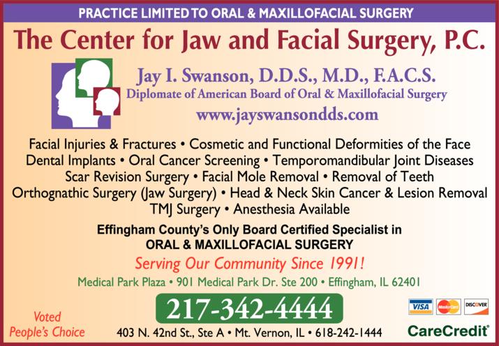 Swanson Jay I DDS MD FACS