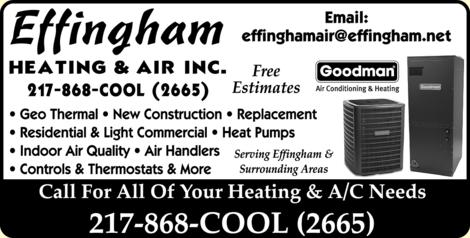 Effingham Heating & Air Inc