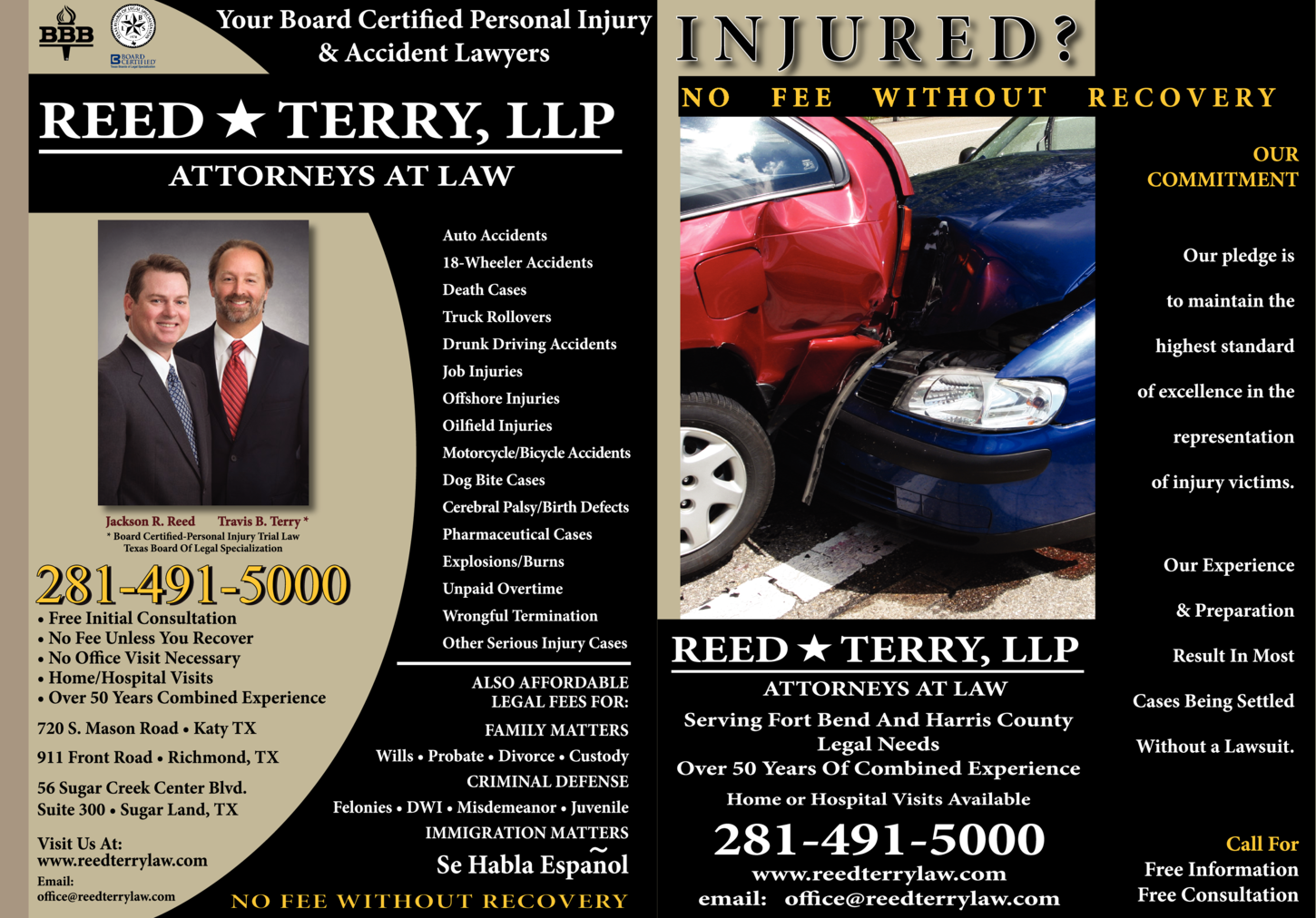 Reed & Terry LLP Attorneys at Law