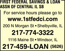 First Federal Savings & Loan Assn Of Central IL SB