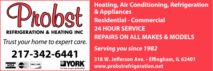 Probst Refrigeration & Heating Inc