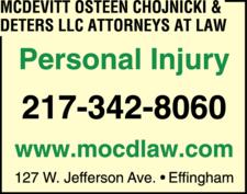 McDevitt Osteen Chojnicki & Deters LLC Attorneys At Law