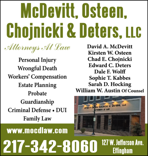 McDevitt Osteen Chojnicki & Deters LLC Attorneys At Law