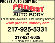 Probst Auto Body Inc