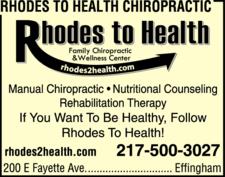 Rhodes To Health Chiropractic