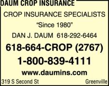 Daum Crop Insurance