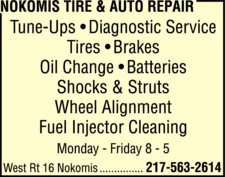 Nokomis Tire & Auto Repair