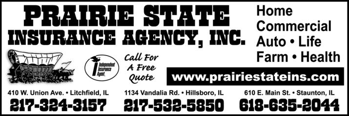 Prairie State Insurance Agency Inc