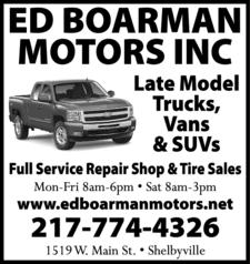 Boarman Ed Motors Inc
