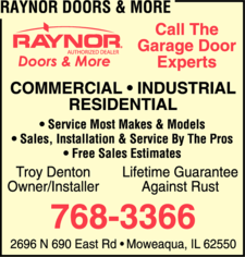Raynor Doors & More