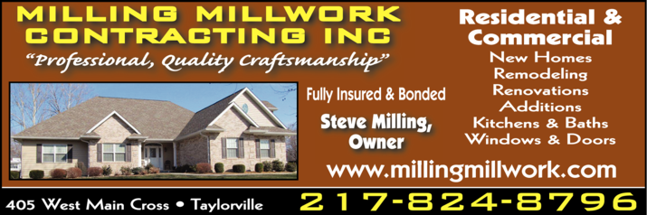 Milling Millwork Contracting Inc