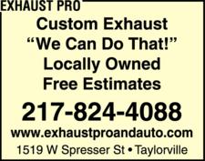 Exhaust Pro