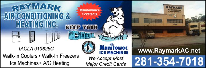 Raymark Air Conditioning & Heating Inc