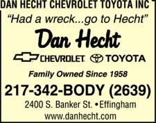 Dan Hecht Chevrolet Toyota Inc