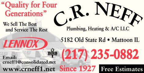 C R Neff Plumbing & Heating A/C LLC