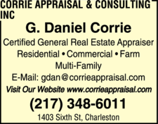 Corrie Appraisal & Consulting Inc