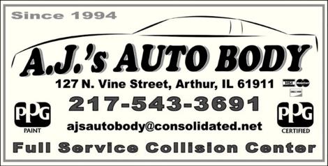 A J's Auto Body