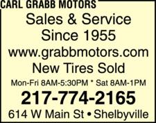Carl Grabb Motors