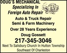 Doug's Mechanical