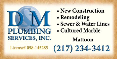 D & M Plumbing Services Inc