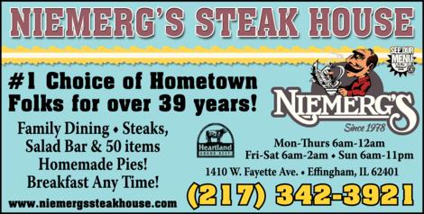 Niemerg's Steak House