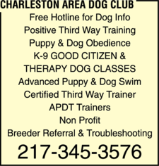 Charleston Area Dog Club
