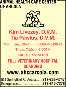 Animal Health Care Center Of Arcola