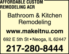 Affordable Custom Remodeling ACR