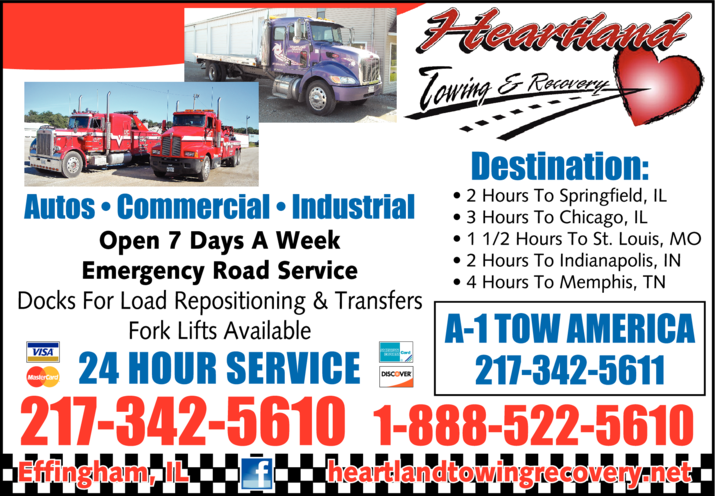 Heartland Towing & Recovery Inc