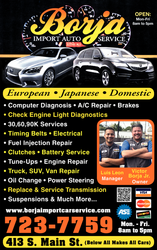 Borja Import Auto Service