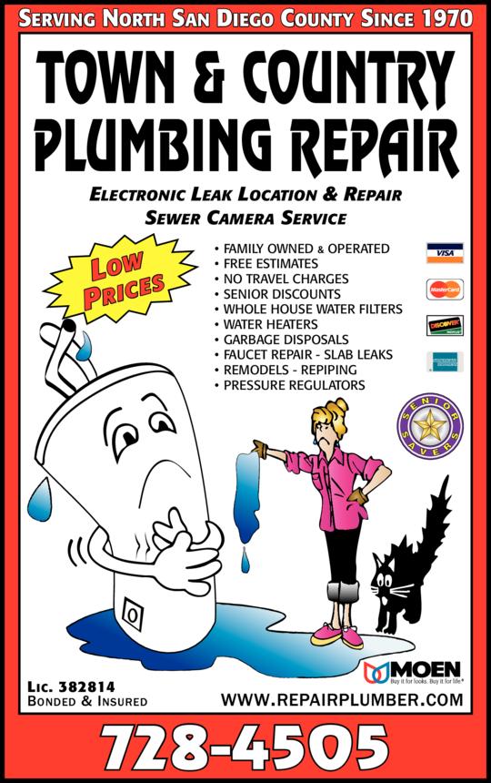 Town & Country Plumbing Repair