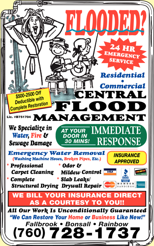 Central Flood Management