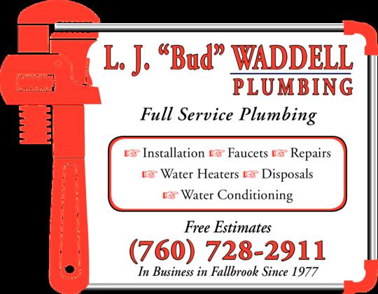 Waddell, LJ Bud Plumbing