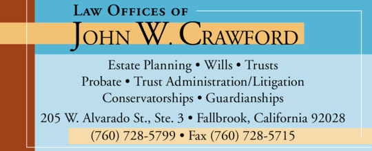 Crawford, John W Attorney