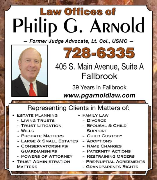 Arnold, Philip G Attorney