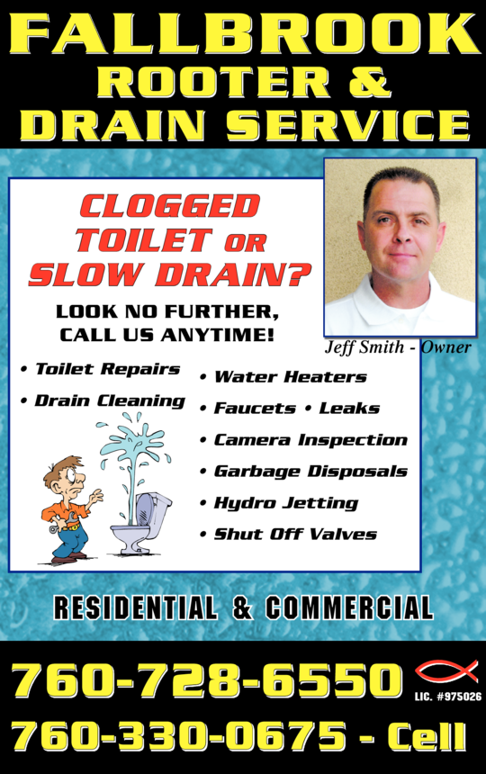 Fallbrook Rooter & Drain Service
